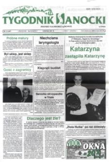 Tygodnik Sanocki, 2001, nr 10