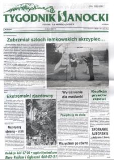 Tygodnik Sanocki, 2001, nr 20