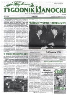 Tygodnik Sanocki, 2001, nr 21