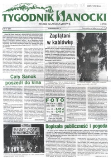 Tygodnik Sanocki, 2001, nr 31