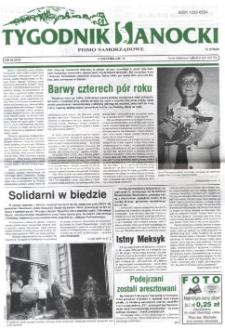 Tygodnik Sanocki, 2001, nr 33