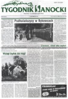 Tygodnik Sanocki, 2001, nr 36