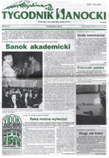 Tygodnik Sanocki, 2001, nr 40