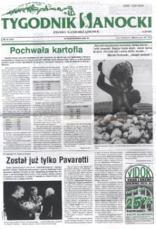 Tygodnik Sanocki, 2001, nr 42