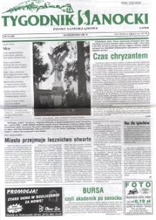Tygodnik Sanocki, 2001, nr 43