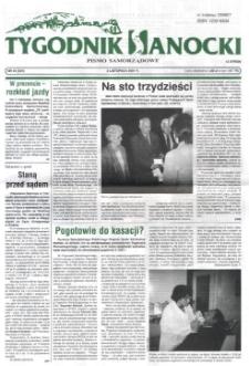 Tygodnik Sanocki, 2001, nr 44