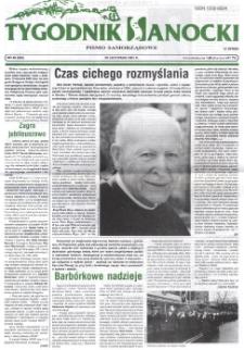 Tygodnik Sanocki, 2001, nr 48