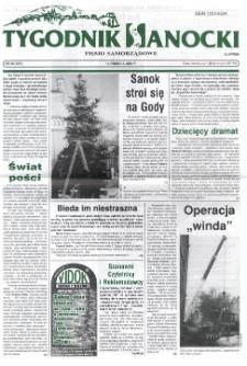 Tygodnik Sanocki, 2001, nr 50
