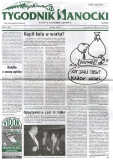 Tygodnik Sanocki, 2002, nr 21