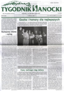 Tygodnik Sanocki, 2002, nr 23