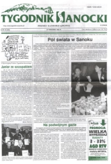 Tygodnik Sanocki, 2002, nr 39