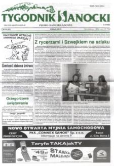 Tygodnik Sanocki, 2003, nr 22