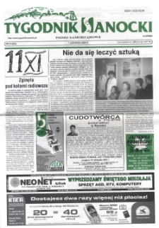 Tygodnik Sanocki, 2003, nr 45