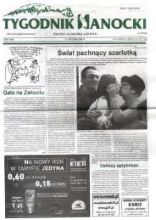 Tygodnik Sanocki, 2005, nr 3