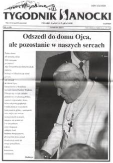 Tygodnik Sanocki, 2005, nr 14