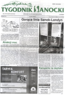 Tygodnik Sanocki, 2005, nr 28