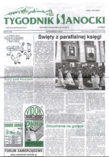 Tygodnik Sanocki, 2005, nr 43