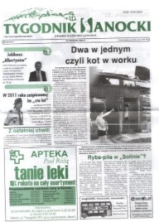Tygodnik Sanocki, 2006, nr 39