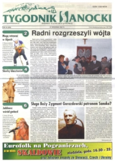 Tygodnik Sanocki, 2007, nr 38
