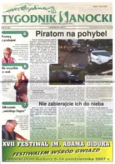Tygodnik Sanocki, 2007, nr 40