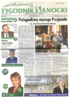 Tygodnik Sanocki, 2007, nr 42