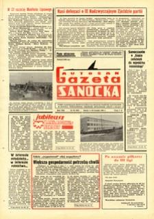 "Gazeta Sanocka ""Autosan"", 1981, nr 22-23"