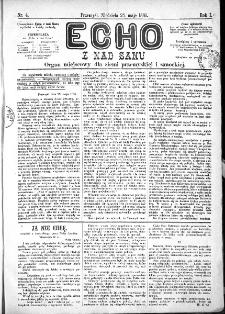 Echo z nad Sanu, 1885, nr 4
