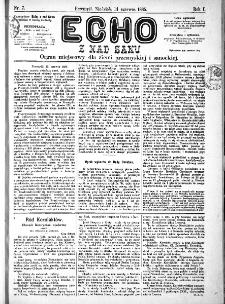 Echo z nad Sanu, 1885, nr 7