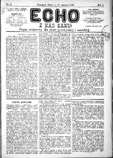 Echo z nad Sanu, 1885, nr 9