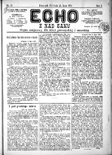 Echo z nad Sanu, 1885, nr 11