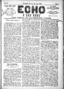Echo z nad Sanu, 1885, nr 12