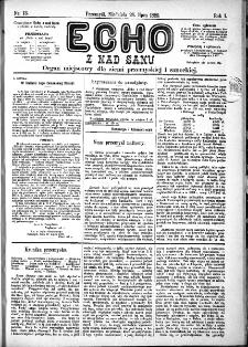 Echo z nad Sanu, 1885, nr 13