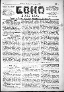 Echo z nad Sanu, 1885, nr 15