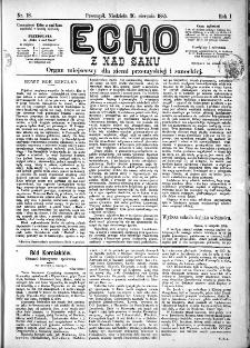 Echo z nad Sanu, 1885, nr 18