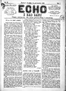 Echo z nad Sanu, 1885, nr 25