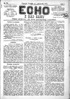 Echo z nad Sanu, 1885, nr 26