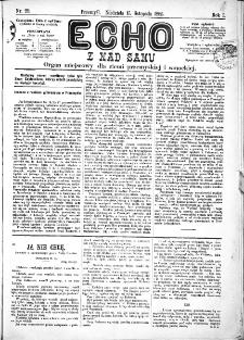 Echo z nad Sanu, 1885, nr 29