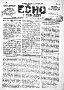 Echo z nad Sanu, 1885, nr 30