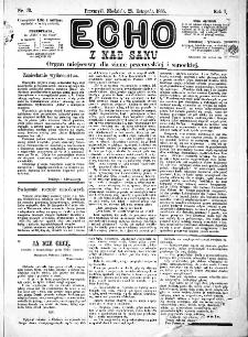 Echo z nad Sanu, 1885, nr 31