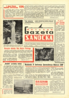 "Gazeta Sanocka ""Autosan"", 1981, nr 30-32"