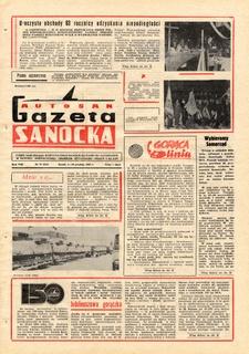 "Gazeta Sanocka ""Autosan"", 1981, nr 33-34"