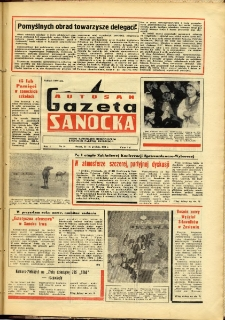 "Gazeta Sanocka ""Autosan"", 1974, nr 19"