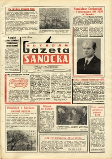 "Gazeta Sanocka ""Autosan"", 1975, nr 12"