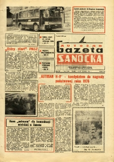 "Gazeta Sanocka ""Autosan"", 1976, nr 2"