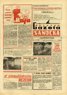 "Gazeta Sanocka ""Autosan"", 1976, nr 8"