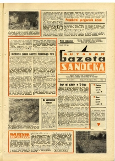 "Gazeta Sanocka ""Autosan"", 1978, nr 24"