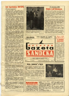 "Gazeta Sanocka ""Autosan"", 1978, nr 30"
