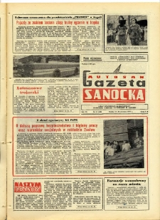 "Gazeta Sanocka ""Autosan"", 1979, nr 17"