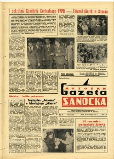 "Gazeta Sanocka ""Autosan"", 1979, nr 23"