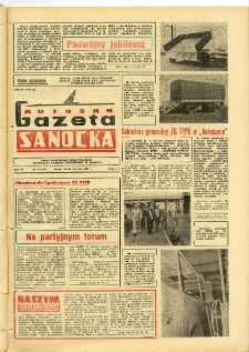 "Gazeta Sanocka ""Autosan"", 1979, nr 24"